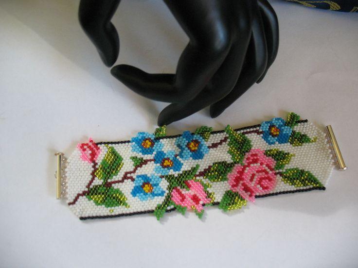 """bracelet..Toho beads bracelet 11 ...,, lena-style ,unicat!"""""""