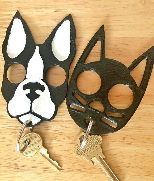 Dog Cat Keychain Protection Self Defense Free Shipping Unbranded Cat Keychain Self Defense Keychain Dog Keychain