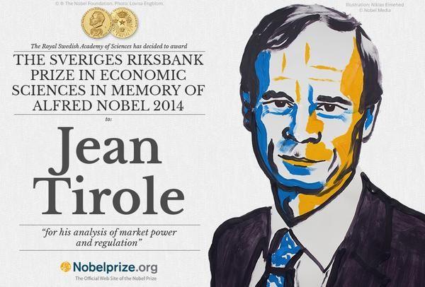 « J'adore écrie au crayon », lance le Prix Nobel d'économie, Jean Tirole. Il ajoute avec humour: « Il faut que je m'écarte du syndrome du Prix Nobel. Je ne peux pas donner mon avis sur tout. Je ne suis ni un gourou, ni un sauveur ».
