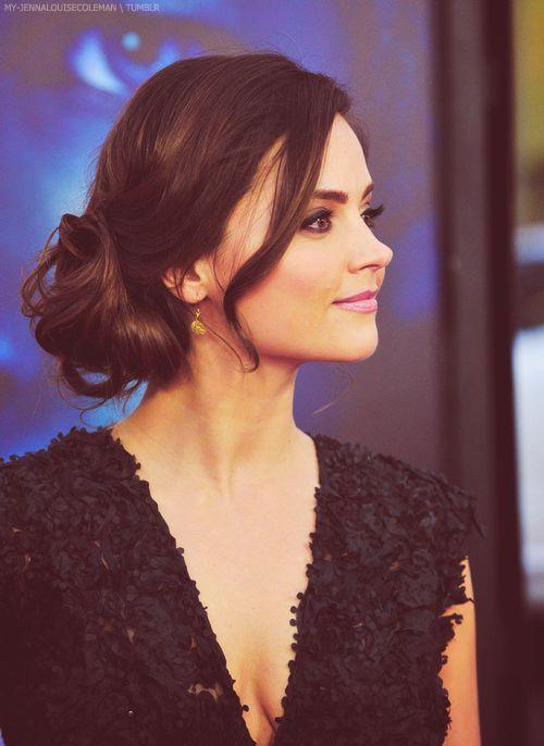 Jenna Louise Coleman, aka Clara. She's flawless!