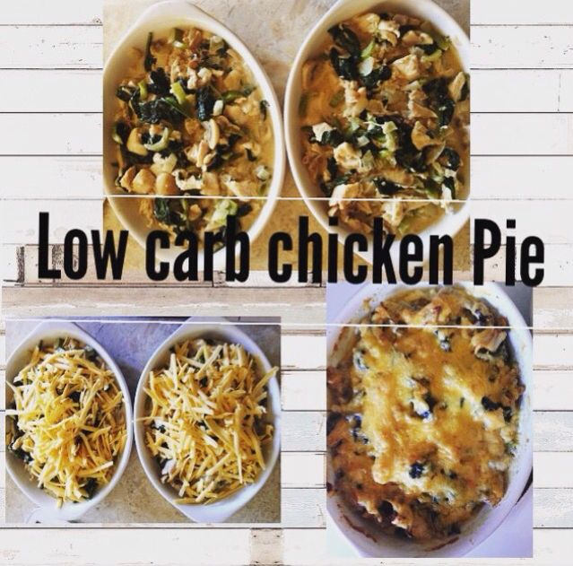 Low carb chicken pie: recipe from the low carb kitchen