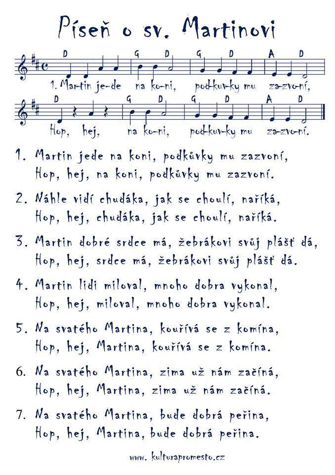 Píseň o sv. Martinovi