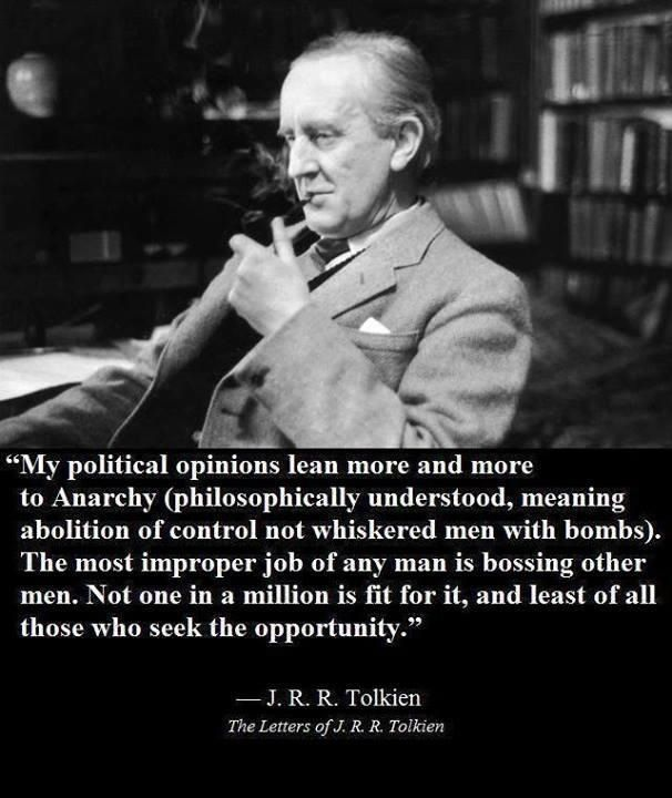 Tolkien on aspiring for leadership and the delicate nature of righteously fulfilling that role.