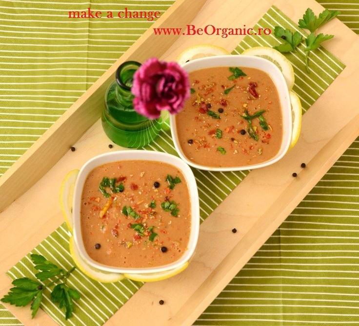 Supa crema de linte de la www.BeOrganic.ro