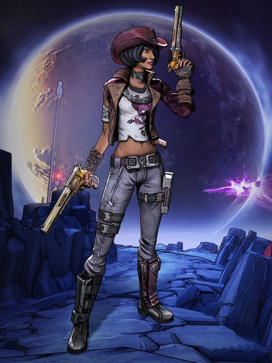 Nisha the Lawbringer is the latest anti-hero to be introduced in the upcoming Borderlands: The Pre-Sequel. The third chapter to the Borderlands series will be released this fall.