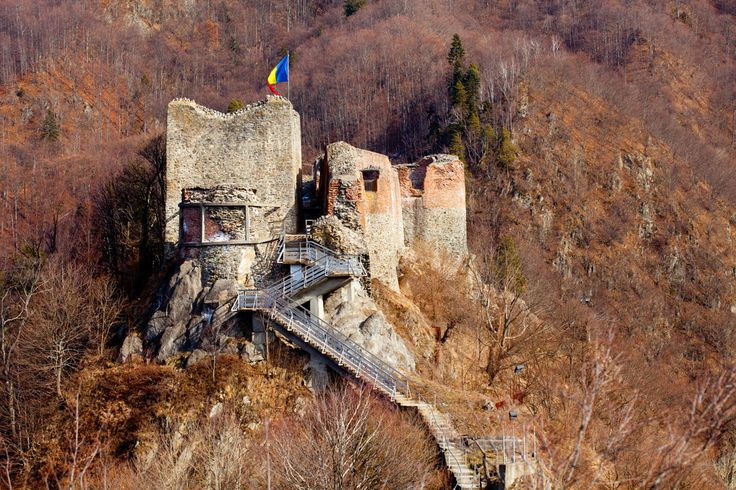 Poenari Castle in Romania is known to have belonged to Vlad the Impaler for part of its history.