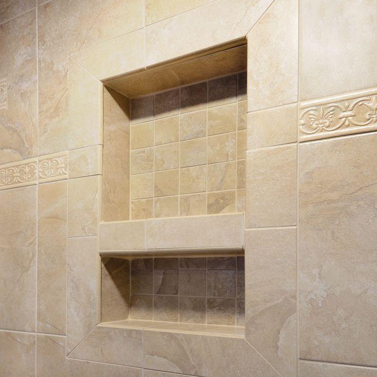 Preformed Shower Niche Installation