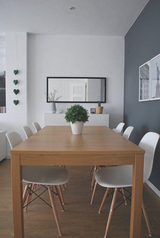 interior gris, Sala de estar con paredes grises y Paredes grises