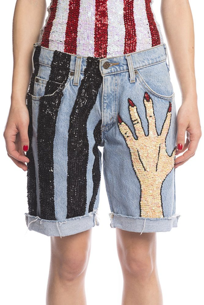 Image of HAND$ OFF CUT OFF SHORTS