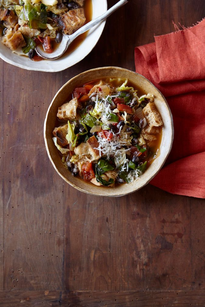 Smoky Ribollita with Orca Beans   Vegetarian Times