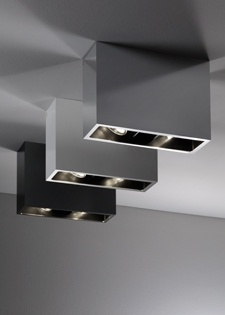 :: LIGHTING :: Fabian - Duct ceiling mount lights - adore these for a feature over any dining #lighting