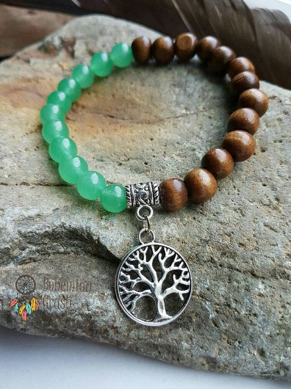Check out this item in my Etsy shop https://www.etsy.com/ca/listing/498342019/tree-bracelet-jade-sandalwood-bracelet