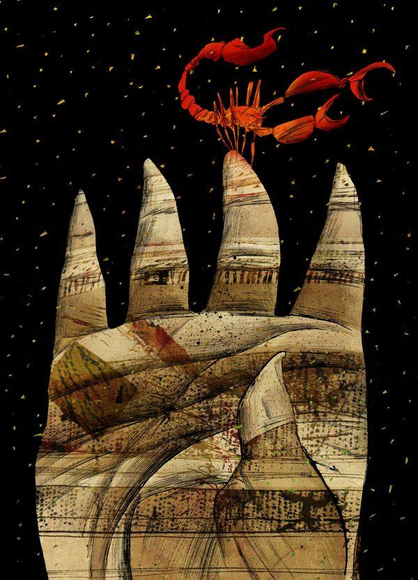 Dave McKean.Graphic short story cover. Portuguese edition. 2003
