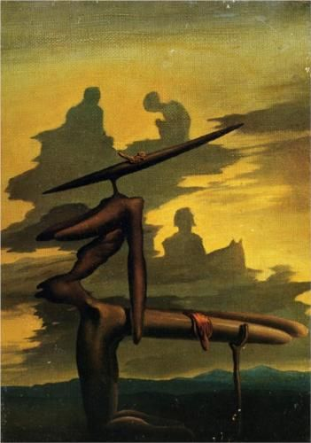 The Spectre of the Angelus, Dali