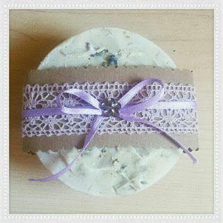 Handicrafts: Φυσικά Σαπούνια Λεβάντας - Natural Homemade Lavender Soap.