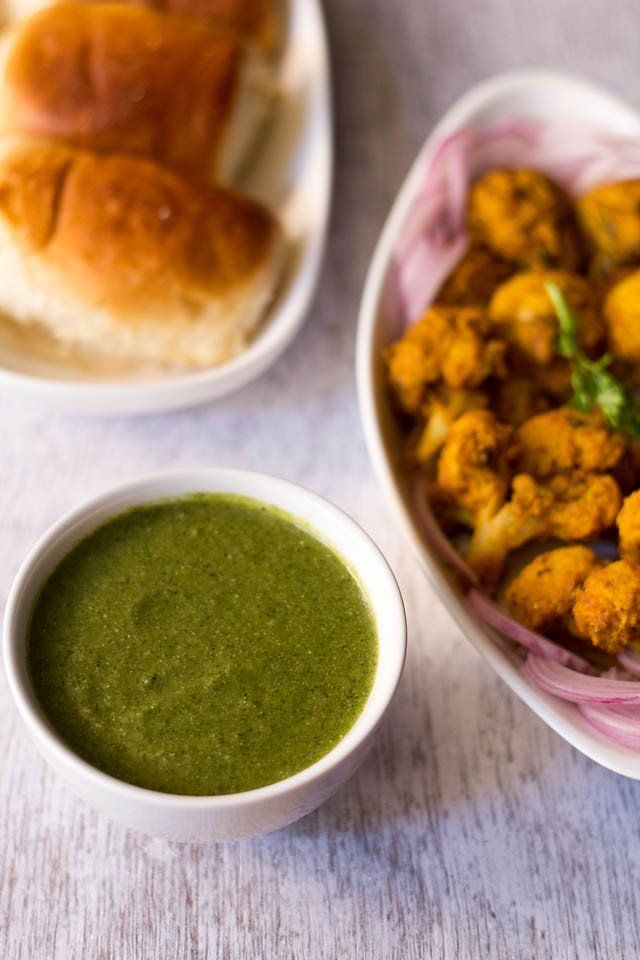 mint chutney or pudina chutney recipe with video and step by step pics - this is the same mint chutney recipe that is served in restaurants with tandoori snacks like veg kabab, hara bhara kabab, veg shammi …