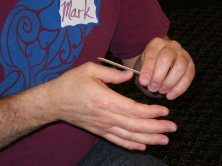 The shorter your nails, the more ways you have to reflex for Foot Reflexology, Hand Reflexology, Ear Reflexology.  www.AmericanAcademyofReflexology.com
