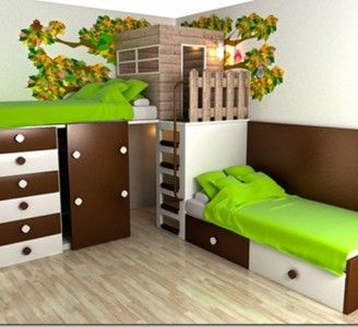 Kids Bedroom Tree House 21 best kids bedroom images on pinterest | nursery, children and