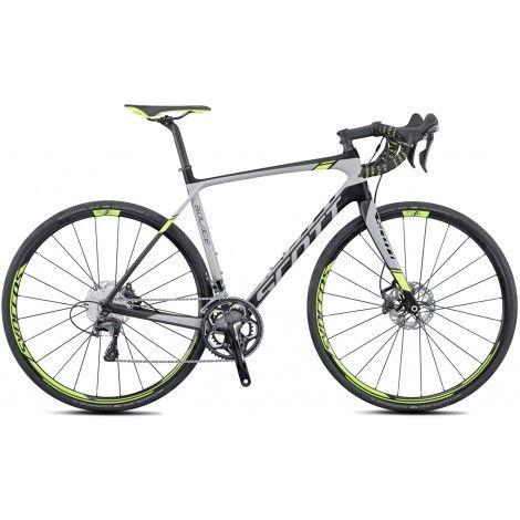 Scott 2016 Solace 10 Disc Mens Road Bike - Grey