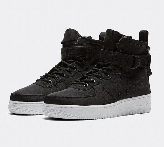 Nike SF Air Force 1 Mid Trainer | Black Anthracite White