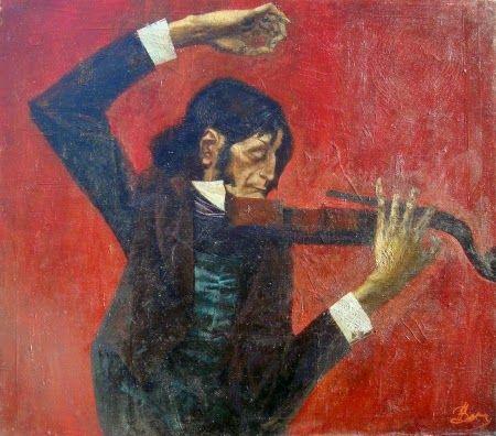 Niccolò Paganini, il Maestro: Niccolò Paganini by Peter Vasiukovhttp://kartinu.c...