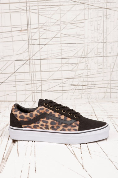 Vans Old Skool Leopard Trainers at Urban Outfitters