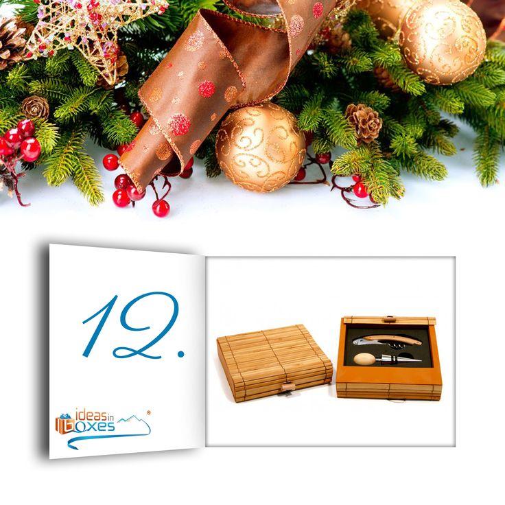 Heute bekommt ihr ein wunderschönes Weinset aus Bambus. Es beinhaltet einen Korkenzieher und einen Verschluss zum Aufbewahren. Heute und morgen für 15,90€ ??  https://www.ideas-in-boxes.de/weinset-bambus.html Perfekt für Weingenießer und kann gleich am Weihnachtsabend ausprobiert werden ??   #Advent #Adventskalender #Rabatt #ideasinboxes #Wein #Weihnachten