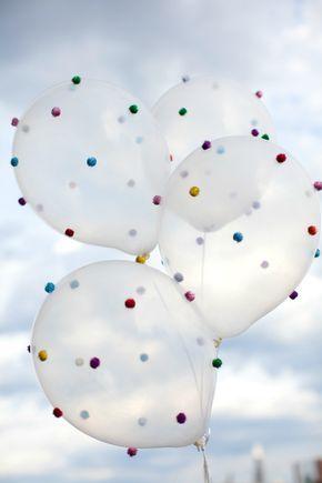 Des jolis ballons pour une jolie décoration d'anniversaire