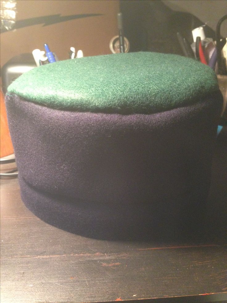 Ustom Toque Camp Hat by The Badge Maker.