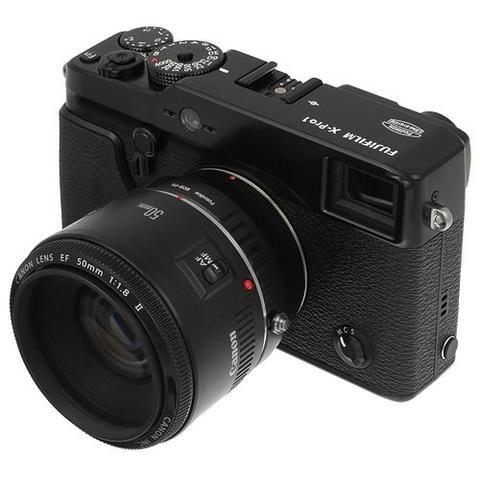Canon EOS Lens to Fujifilm X-Series (FX) Mount Camera Bodies