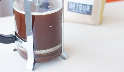 How to brew perfect French Press coffee with step-by-step photos.