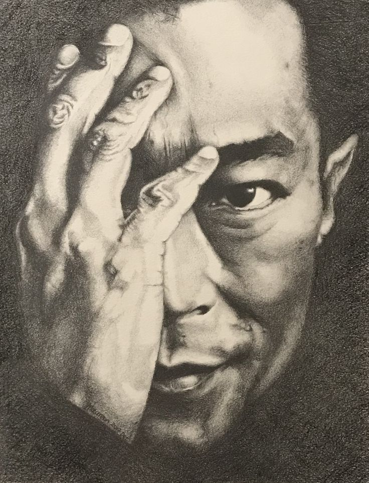 Pencil drawing - Louis Koo 古天樂