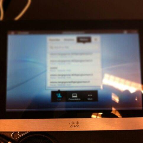 Videoconferencia Cisco