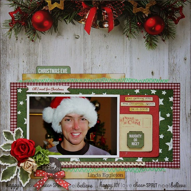 All About Scrapbooks - Kaisercraft Basecoat Christmas by Linda Eggleton
