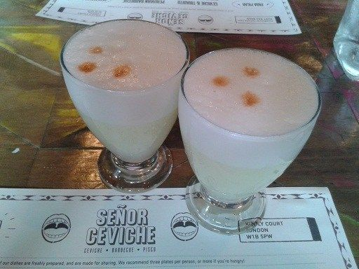Pisco Power! Getting into the Peruvian spirit at Senor Ceviche restaurant in London's Soho