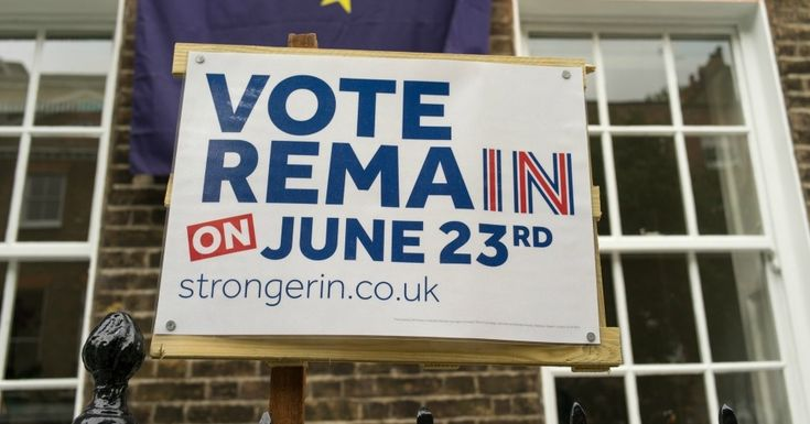 """As the Remain and Leave campaigns make their final pushes in the hours before the so-called """"Brexit"""" referendum, recent polling shows the British public near evenly divided on whether or not to leave to European Union."""