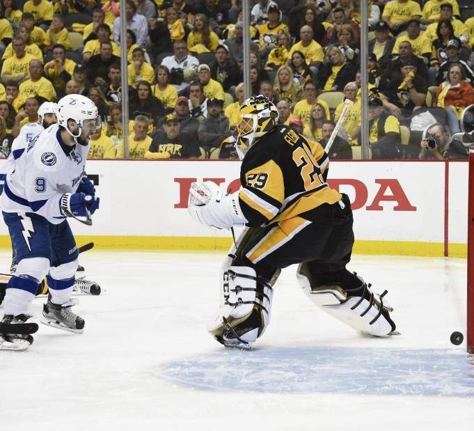 May 22, 2016 — Eastern Conference final: Lightning 4, Penguins 3, OT (Photo: Chaz Palla     Tribune-Review)
