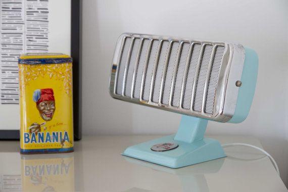 Lampe vintage design upcycling issue d'un ancien radiateur Thermor années 50-60