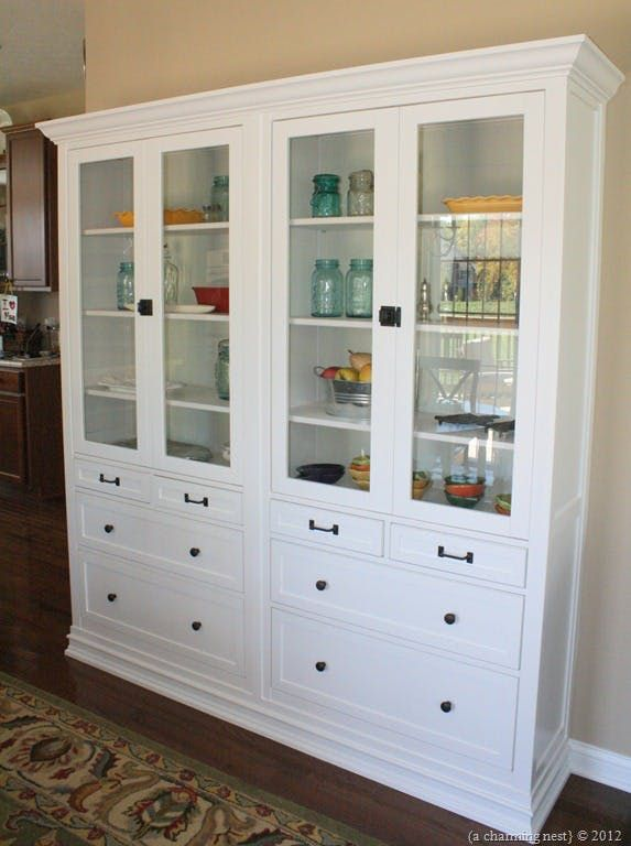 Not a single one of these pantries was created with IKEA kitchen cupboards, oddly!