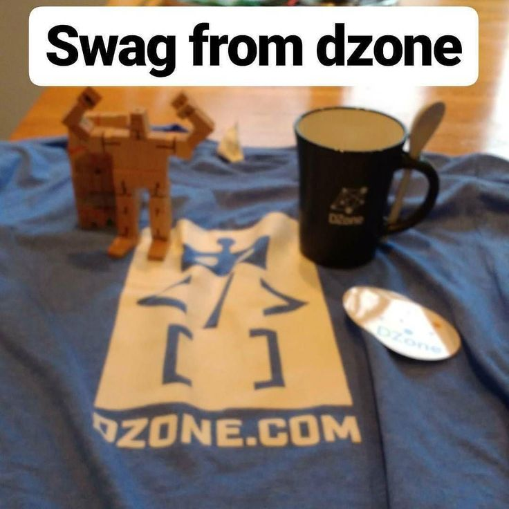 Thanks to .dzone.com for the swag parcel that arrived today.