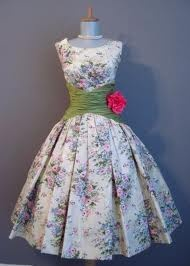 the perfect 50's wedding dress