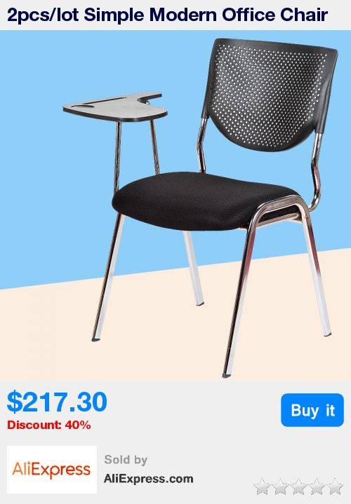 2pcs/lot Simple Modern Office Chair With Writing Board Conference Meeting Chair Student Study Desk Chair Office Computer Chair * Pub Date: 17:39 Apr 11 2017
