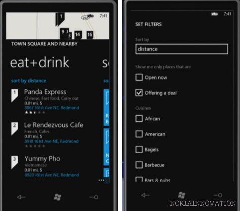 First Look New Features in Local Scout for Windows Phone 8