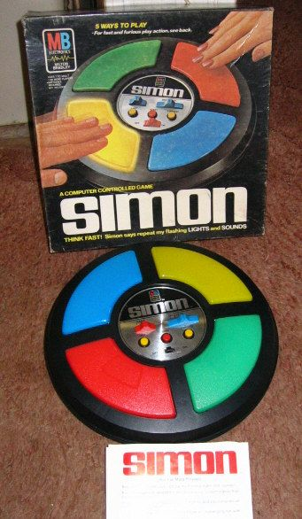 Toys From The 70S - Bing Images - OMG my kids used to play this endlessly. It got very intense trying to repeat recorded hand beats which got progressively faster.