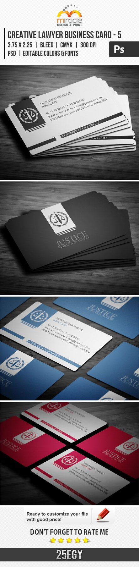 28 best Business cards lawyers images on Pinterest | Lipsense ...