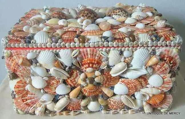 17 best images about artesanias con caracoles on pinterest - Manualidades con conchas ...