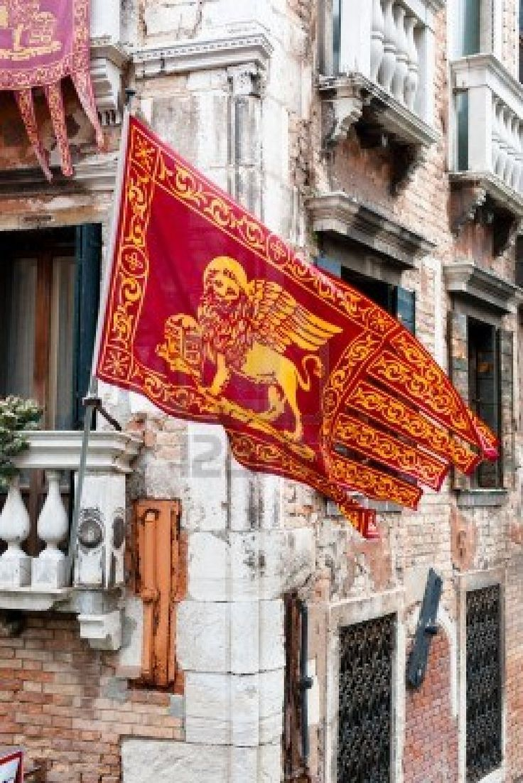 Bandera de Venecia (Venice), Italy.