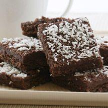 Chocolate & Coconut Slice