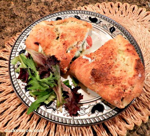 How to make a calzone #TriplePFeature