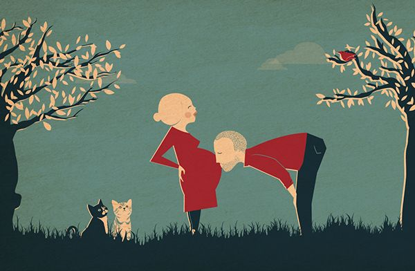 Birth Announcement Remi by babs raedschelders, via Behance